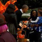 Trick-or-treat! Watch the Obamas pass out Halloween candy at the White House: http://t.co/ePjTmnfPYG http://t.co/2hJyl3tl1X