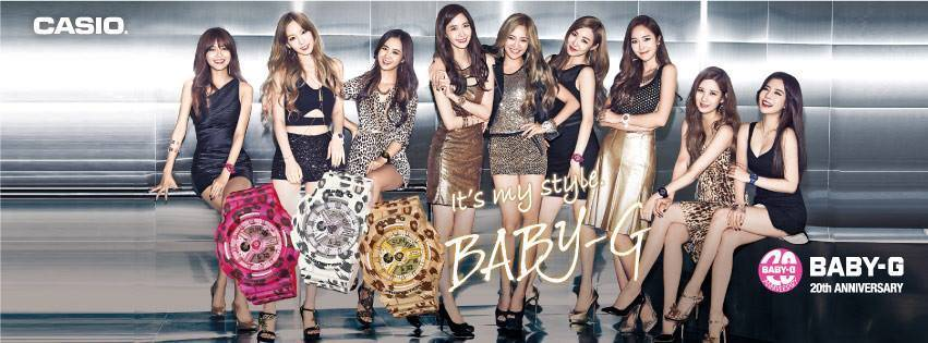 [Picture] 141031 SNSD- Baby-G Promotion Update http://t.co/8umYWoMumY