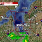 RADAR UPDATE 8:40PM: Bursts of ran/snow continue. Quick coating on cars,roofs,grassy areas then ending #inwx @FOX59 http://t.co/hD135BApvd