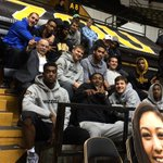 Watching @MizzouVB? Great. Watching @MizzouVB with @bowtieger? Priceless. http://t.co/gfg3wYzvhK