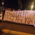 La marcha es abanderada por la Policía Federal y de la Policía Estatal de la @PGJECoahuila. http://t.co/2NoX1oDaJa