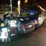 Concepción colisión de vehículo menor con taxibus 3 lesionados Bomberos trabaja en el lugar http://t.co/N76SVr6xlE
