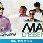 Mark your calender !! Live concert sandhy sondoro & Maliq N DEssentials friday,28 November 2014 @bandarlampung http://t.co/2AVqIWo2XB