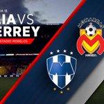 ¡Arranca el partido! @FuerzaMonarca vs. @Rayados en el Estadio Morelos #MONvsMTY http://t.co/cF0LNh0yHx