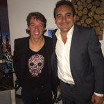 Qué lindo poder conocer por fin al crack @UranRigoberto !! Gracias genio por recibirme en tu casa!! Sos un fenómeno!! http://t.co/2Ppls4Dgg6