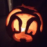 I carved a doggy-o-lantern. http://t.co/ceNqj6lZlC
