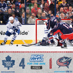 Winnik and Kessel with 3pts, Bernier with 28 saves in the win. #TMLtalk #ForTheWin http://t.co/sAERAdw6wA
