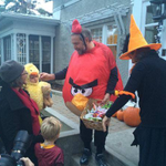 Mulcair wore an Angry Birds costume for Halloween. Not many other politicians in Canada would do that. #cdnpoli http://t.co/vrkNgvexN9