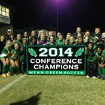 Congrats to @MeanGreenSoccer for winning the 2014 @Conference_USA regular season title! #GoMeanGreen http://t.co/nnDrMenfoO