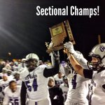 @BenDavisFB: BD 34 - Avon 27! Sectional Champions!  Its a great day to be a Giant! http://t.co/Luqmma5WBF