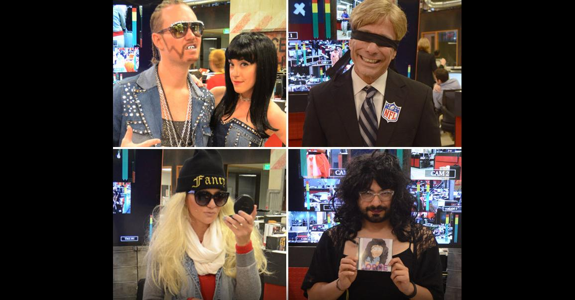 TMZ staff Halloween costumes: Roger Goodell, Amanda Bynes, Lorde & more sweet 'stumes!
