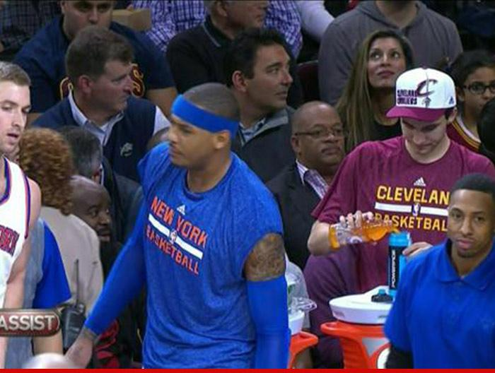 Cleveland Cavaliers launch investigation into why Gatorade was poured into Powerade bottle