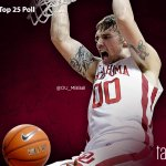 #Sooners debut at No. 19 in @AP_Top25. Last two Final Four teams started 25th (2001-02) & 19th (1987-88). #takeNOTICE http://t.co/ZHHq7WC2Qr