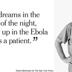 The men and women of an Ebola clinic in Liberia reflect on life inside the gates. http://t.co/ZohEchFHYe http://t.co/OkPFu2qHQ9