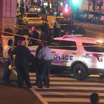 BREAKING NEWS: DC Police continue on scene of a shooting at 7th and F Street NW in #DC http://t.co/LnxB1eKPn2