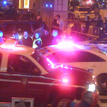 MORE PICTURES: Police continue on scene of shooting at 7th and F Street NW in #DC http://t.co/W6IMNCDsiF