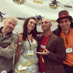Had a great Geekscape live recording at @StanLeeComikaze w/ @ThatChrisGore @facdaniels and @katarinasinfamy! http://t.co/rfVB94AZdV