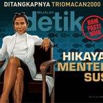 """Telah terbit @majalah_detik terbaru """"Hikayat Menteri Susi"""". Baca selengkapnya di http://t.co/vFO84elFAF http://t.co/clNBsJvBt1"""