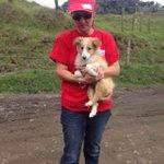 """""""@grevgri: Este bebé fue abandonado y rescatado en la zona de mayor peligro de Turrialba. Lo dan en adopción ???? http://t.co/NMl93MIADG"""" //????"""