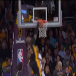 VIDEO: @kobebryant turns back the clock with a nasty reverse baseline dunk over Matt Barnes http://t.co/B4HdBvKlWf http://t.co/W6ezBRpg7a