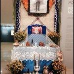 Ofrenda al Gral Emiliano Zapata Salazar Museo de Arte Popular #MAPO Morelos. http://t.co/Kk58viTbOg