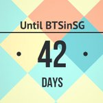 [COUNTDOWN] D-42 to BTS in Singapore! http://t.co/DmTzxjUjAi