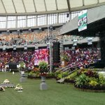 The Moses Mabhida stadium ahead of the #MeyiwaFuneral http://t.co/eVX9d9z8we