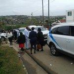 Outside Senzos home in Umlazi, family making its way to Moses Mabhida #SenzoMeyiwaFuneral @ANN7tv @HajraOmarjee http://t.co/O1LynXapTN
