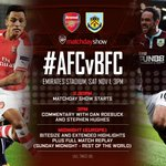 Morning all its matchday! How are you feeling? Confident, excited, nervous? #AFCvBFC http://t.co/Zuu3Lnu8Xs
