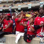 Fans are arriving in droves at KZNs Moses Mabhida stadium for the late Bafana & Orlando Piartes captain #SenzoMeyiwa http://t.co/jGQa3AoT35