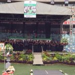 #MeyiwaFuneral a choir is now on stage at the Moses Mabhida stadium ahead of Meyiwas funeral service http://t.co/3xyiRdxIFK