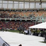 We are all together as soccer fans of different clubs to pay our final respects #RIPSenzoMeyiwa #MosesMabhidaStadium http://t.co/uCRzjbsO1b