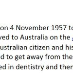 This deleted from Wikipedia.Too late! I kept a copy. Abbott family fled WW2.Went home when it finished. #auspol http://t.co/GlULPcncho