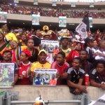 #FinalFarewell #SenzoMeyiwa fans gather ahead of funeral service @eNCAnews http://t.co/jpQrbxxzxZ