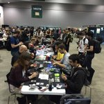 #netrunner tournament at #PAXAus ! http://t.co/hP9Yfe8Oqq
