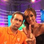 ¡Qué dupla! @TotoGonzalez y @yolandapark1 trabajando a full en @teletonparaguay. #PoneleCorazón #TeletónParaguay http://t.co/BCYltCZRZY