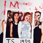 Been #taylurking Halloween style. Excellent work guys. #TS1989 http://t.co/sSfIrZFvix