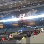 """during music bank mexico there was this big """"chandara"""" banner & chanyeol saw it and he was like... lmfao (cto) http://t.co/qZ2WLxzMdG"""