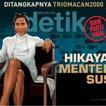 Kisah hidup Menteri Kelautan dan Perikanan Susi Pudjiastuti bak dongeng http://t.co/88rWTYb6ow http://t.co/zFMzbtyWw3 @majalah_detik