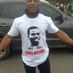 Supporters are wearing these shirts for #SenzoMeyiwa @MarykeVermaak http://t.co/BDk9PDrxtw