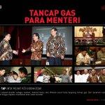 #LensaMajalahDetik foto-foto tancap gas para Menteri yang baru dilantik http://t.co/88rWTYb6ow http://t.co/13W0Dyxv9d