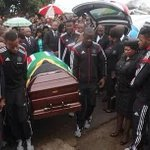 """May his soul rest in peace :(""""@MapsMaponyane: Farewell captain my captain. Lala ngoxolo Senzo Meyiwa... http://t.co/iK7qAOW42t"""""""