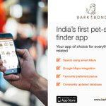 RT @PranitaBalar: Launching pet-service finder app for #petparents in India — @BarkNBond. https://t.co/wjN7tWFoA5 #Mumbai #animallover http…