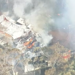 Fire is just mere metres away from neighbouring properties in Katoomba. #9News http://t.co/ynKQiZrp9T