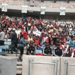 #SenzoMeyiwa The doors have just opened at Moses Mabhida Stadium with thousands of fans rushing in instantly. ML http://t.co/DfpbtfDNBC