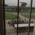 Meyiwa Supporters lined up and ready for a send off to remember #MeyiwaFuneral @encanews http://t.co/8beyhuNjSD