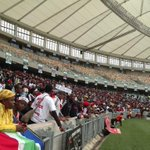 Its been under an hour since gates opened and already the stadium is filling up #MeyiwaFuneral @encanews http://t.co/96481RyvKE