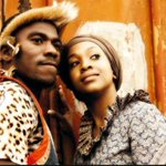 Senzo nd his wife,i feel sorry for his wife,rest in peace senzo http://t.co/p1BPDi3zmV