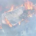 One house has been destroyed by fire in Katoomba, after a small blaze got out of hand this afternoon. #9NewsAt6 http://t.co/0eyjACrvOp