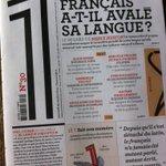 Pour égayer cette Toussaint, vos voyages en train, jonglez avec la langue et les mots avec @Le1hebdo en kiosque ! http://t.co/lD03Zq4NVE